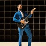 Leroy van BZB met zijn gitaar