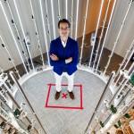 Jaap Termeer staat in de scanningbooth bij Replicad Tilburg