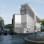 3D rendering van het nieuwe Primark pand in Tilburg