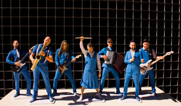 de Band Zonder Banaan als 3D beeldjes - uitgelichte afbeelding