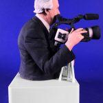 De 3D Urn van cameraman Joop als Time Capsule
