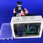 De 3D Urn is daarna voorzien van een Raspberry PI computertje