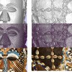 Details van de 3D scan van het gezichtsmasker