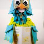 3D Print Meneer de Uil voor Beeld&Geluid in Hilversum